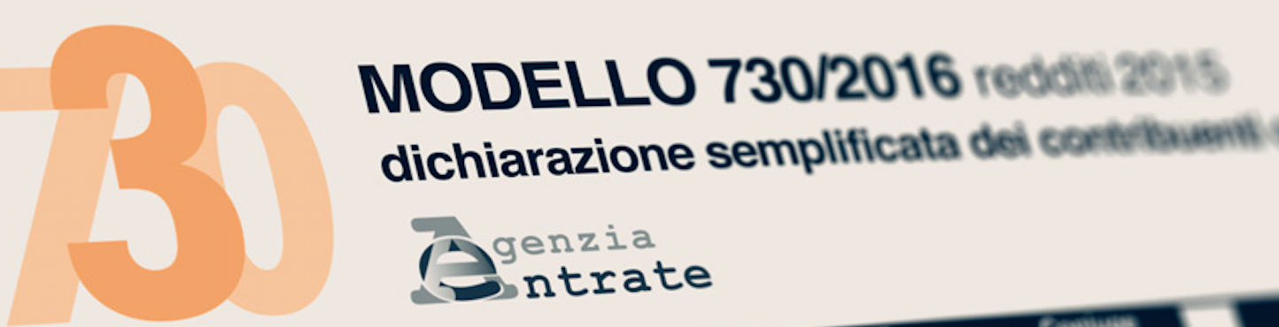 Le novit e i documenti utili per il 730 2016 studio mameli for Documenti per 730